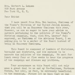 Letter : 1947 February 27