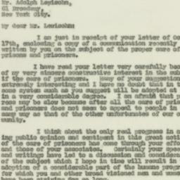 Letter : 1929 October 23