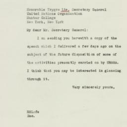 Letter : 1946 June 21