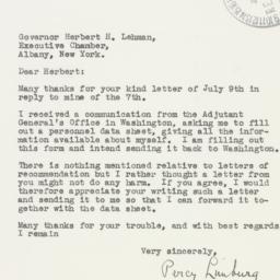 Letter : 1942 July 16