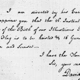 Document, 1797 February 06