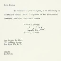 Letter : 1949 November 4