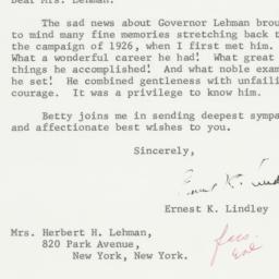 Letter : 1963 December 10