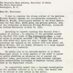 Manuscript: 1951 July 27