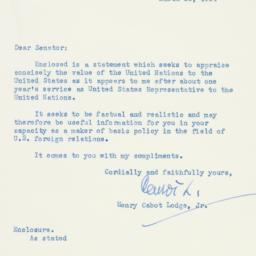 Letter : 1954 March 25