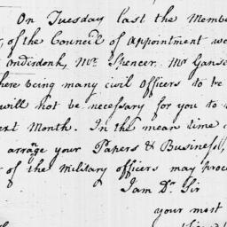 Document, 1797 January 06