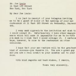 Letter : 1946 August 29