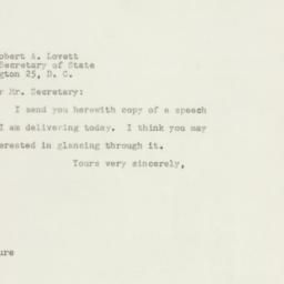 Letter : 1947 October 11