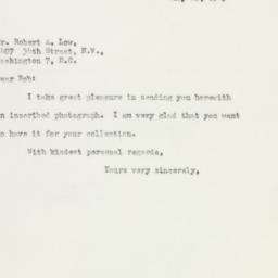 Letter : 1943 July 23