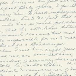 Letter: 1956 February 29
