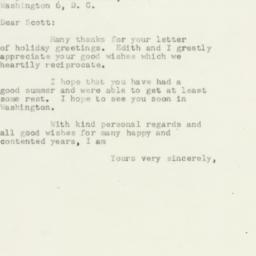 Letter : 1952 December 24