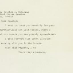 Letter: 1949 November 21
