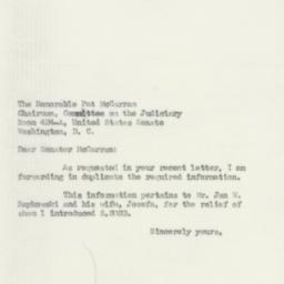 Letter: 1950 April 10