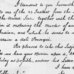 Document, 1796 September 26
