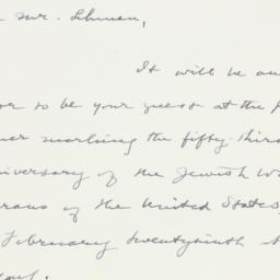 Letter : 1948 June 28