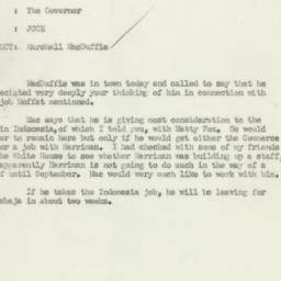 Letter : 1950 August 3