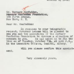 Letter : 1941 October 2