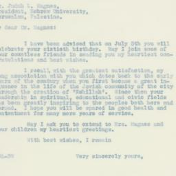 Letter : 1937 June 5