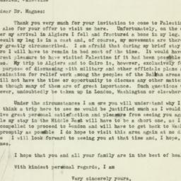 Letter : 1944 March 27