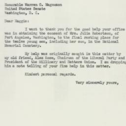 Letter : 1952 January 30
