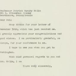 Letter : 1949 December 31