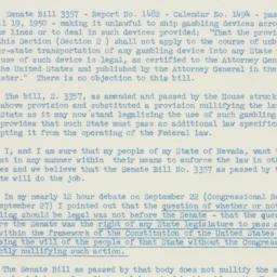 Letter : 1950 December 4