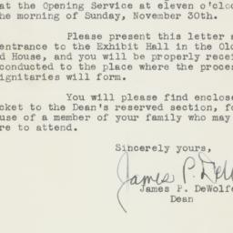 Pamphlet : 1941 November 27