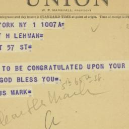 Letter : 1949 September 1