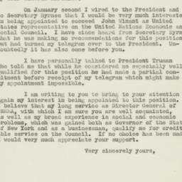 Letter : 1947 January 24