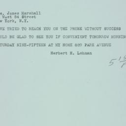 Letter: 1946 February 22