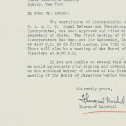 Letter : 1940 March 21