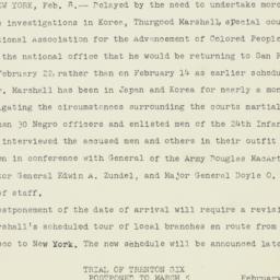 Letter : 1951 February 8