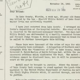 Pamphlet : 1951 November 19