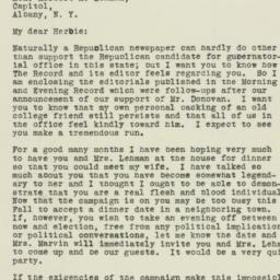Letter : 1932 October 7