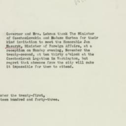 Telegram : 1943 November 21