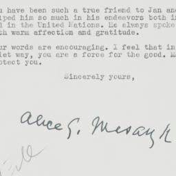 Letter : 1959 June 11
