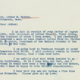 Letter: 1937 August 17
