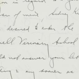 Letter : 1938 August 27