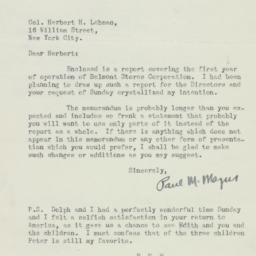 Letter : 1922 August 24