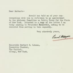 Letter : 1933 August 1