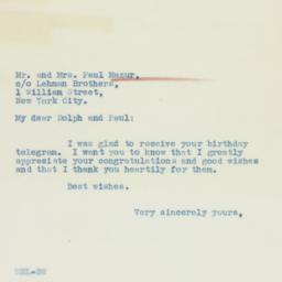Letter : 1936 April 1