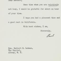 Letter : 1938 December 12