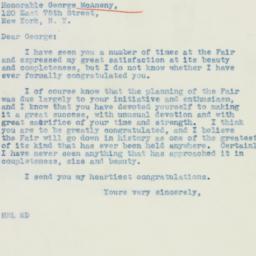 Letter: 1939 June 17