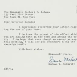 Letter: 1962 September 18