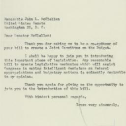 Letter : 1953 January 30