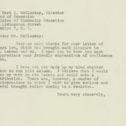 Letter : 1949 August 4