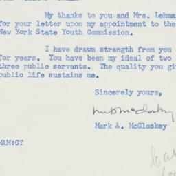 Letter : 1955 March 22