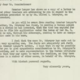 Letter : 1952 March 5