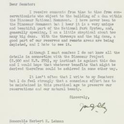 Letter : 1955 March 14