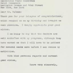 Letter : 1963 April 3